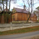 Kościół parafialny w Lutkówce foto: Irmina Wójcik