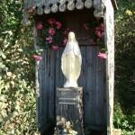 Kapliczka przy stawach Św. Anny