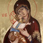 Ikona Matki Bożej typ Eleusa